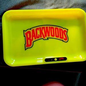 LED Backwoods rolling trays